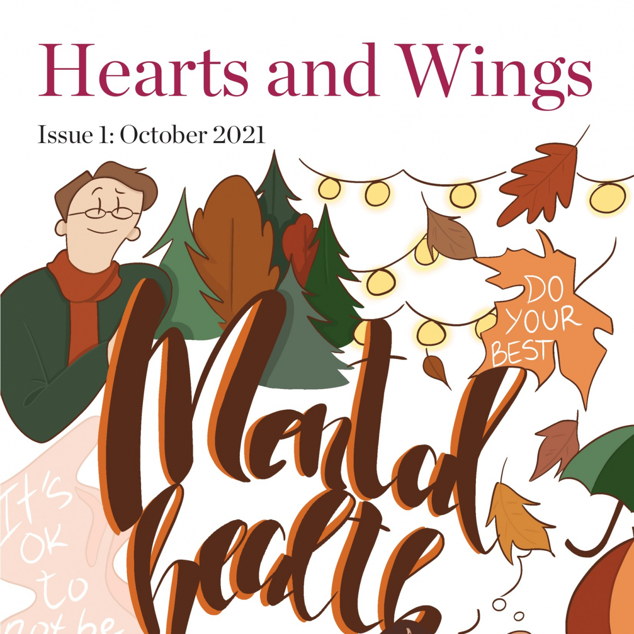 """The First Issue of """"Hearts and Wings"""""""